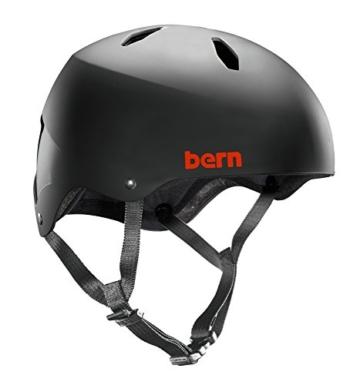 Bern Jungen Helm Diablo EPS Thin Shell, matt schwarz, S, BB04EMBLK61 - 1