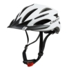 Fahrradhelm Cratoni Pacer, white matt - Visier schwarz, Gr. L-XL (58-62 cm) - 1