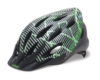 Giro Flume Youth Bike Helm, Green/Black Lines - 1