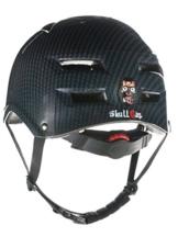 Skullcap® BMX Helm ☢ Skaterhelm ☢ Fahrradhelm ☢, Herren | Damen, schwarz matt & glänzend (Carbon, L (56 - 58 cm)) - 1