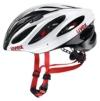 Uvex Fahrradhelm Boss Race, White-Black, 55-60, 4102290817 - 1