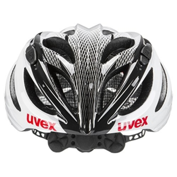 Uvex Fahrradhelm Boss Race, White-Black, 55-60, 4102290817 - 3