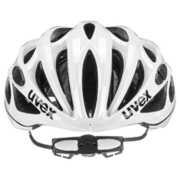 Uvex Fahrradhelm Race 1, White, 51-55, 4101701115 - 3
