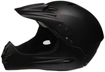 Ventura Downhill Helm, matt schwarz, L (58-62 cm) - 1