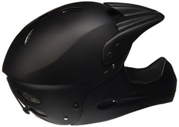 Ventura Downhill Helm, matt schwarz, L (58-62 cm) - 2