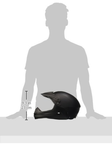 Ventura Downhill Helm, matt schwarz, L (58-62 cm) - 3