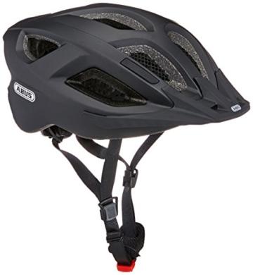 Abus Aduro 2.0 Fahrradhelm, Velvet Black, 58-62 cm - 1