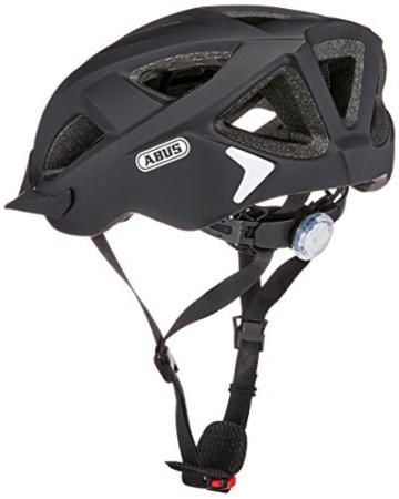 Abus Aduro 2.0 Fahrradhelm, Velvet Black, 58-62 cm - 2