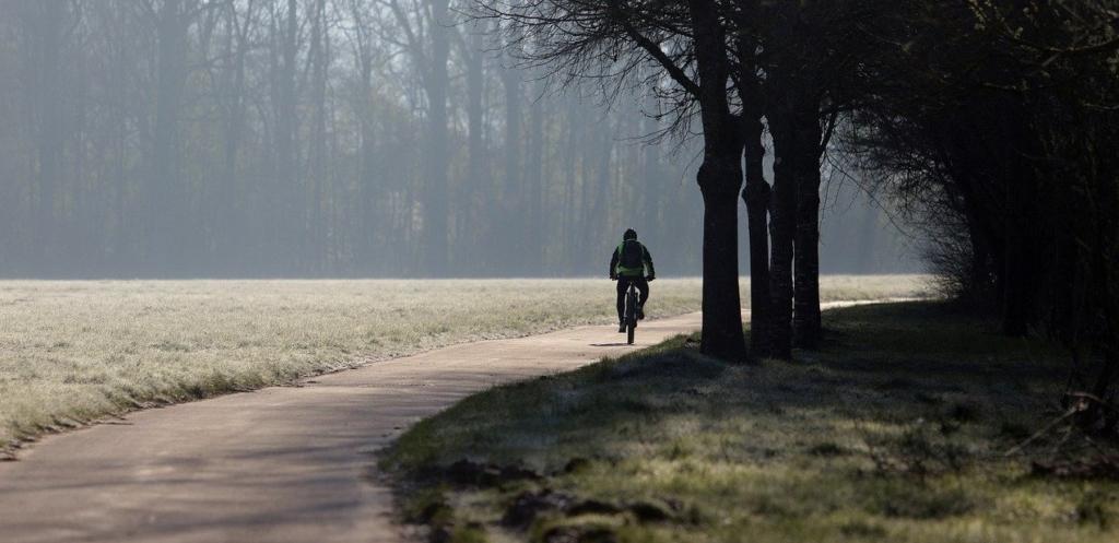Fahrradhelm mit Visier