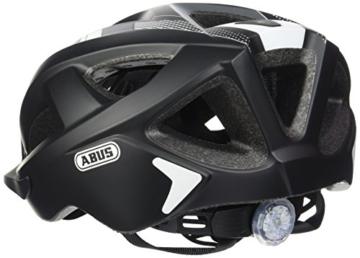 Abus Aduro 2.0 Fahrradhelm, Race Black, 58-62 cm - 2