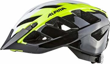 Alpina Erwachsene Panoma 2.0 Fahrradhelm, White-neon-Black, 52-57 cm - 3
