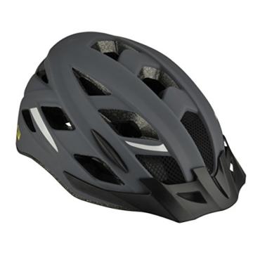 FISCHER Erwachsene Urban Levin Fahrradhelm, grau-schwarz, L/XL - 2