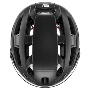 uvex Unisex– Erwachsene, finale visor Fahrradhelm, black mat, 52-57 cm - 8
